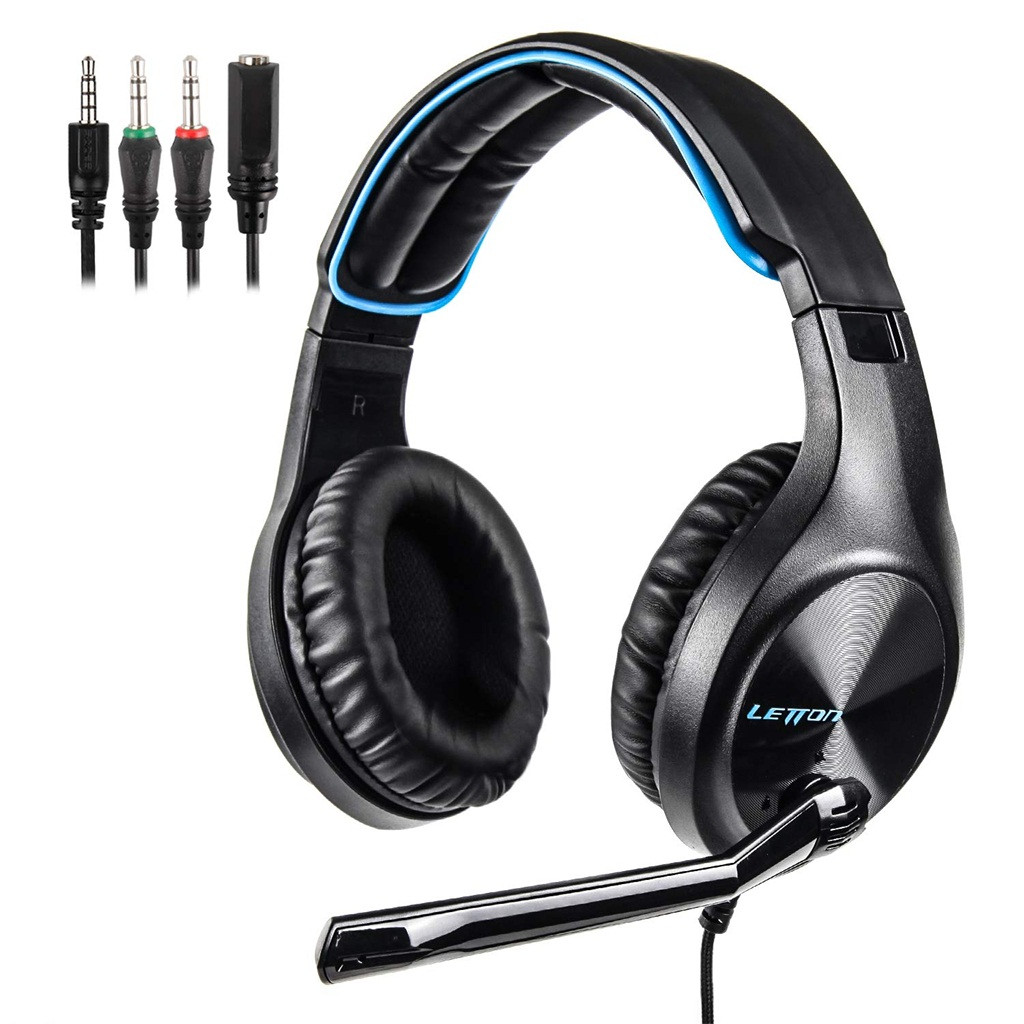 Letton L6 Wired Gaming Headphones  Microphone Earphone Headset For PS4 dropshipping