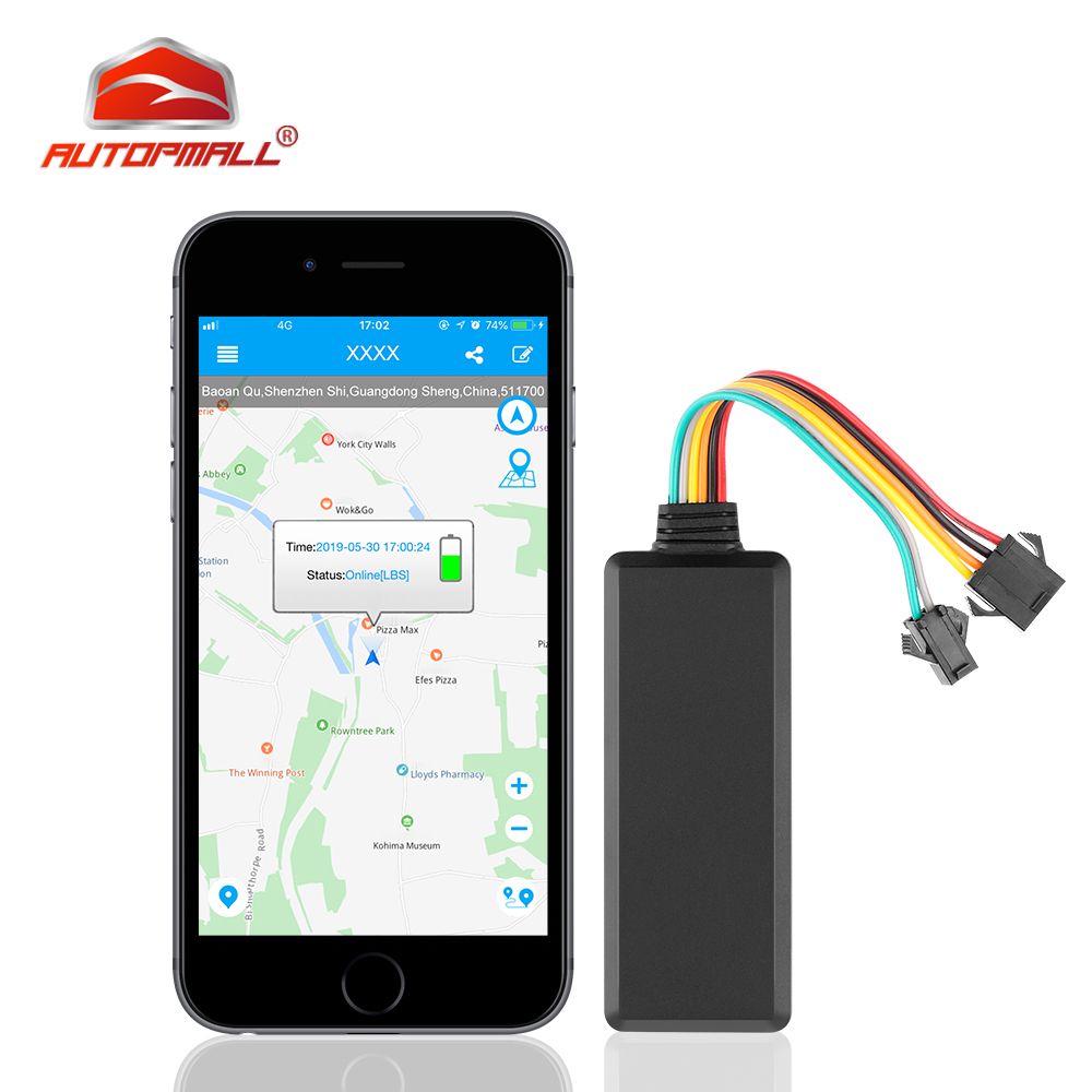2G Mini GPS Tracker Car Remote Cut Off Oil Car GPS Data Logging Vehicle Locator TK121 Realtime tracking Speed Alarm Free Web APP