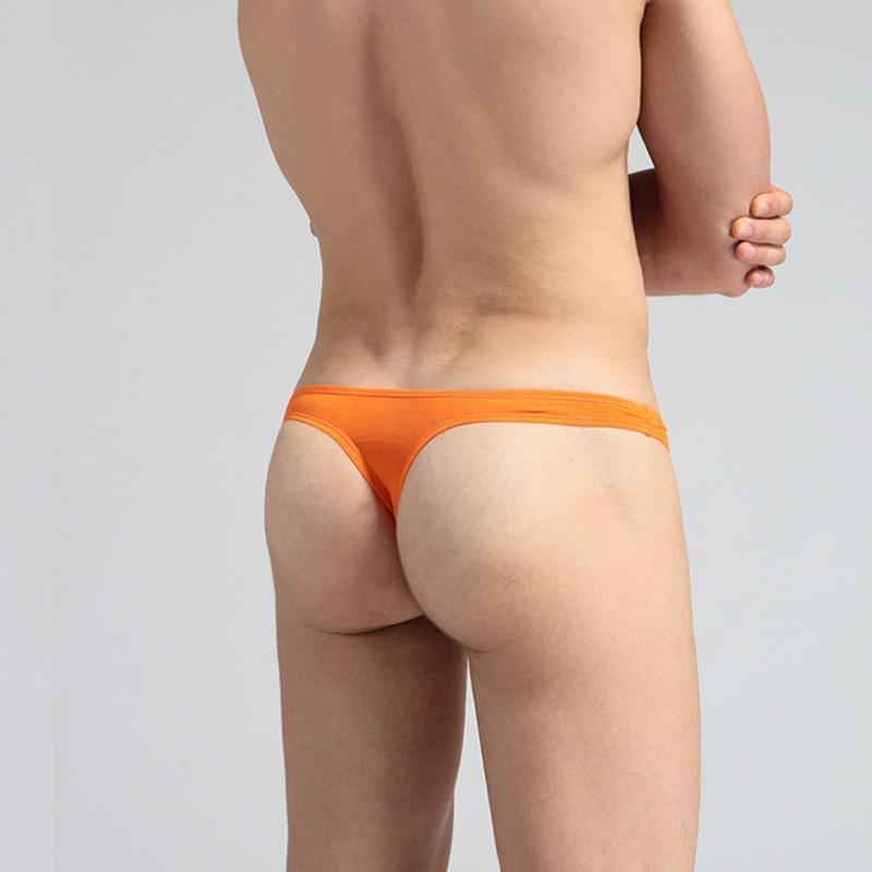 Men's Sexy Modal Underwear Jock Straps Erotic Lingerie Long Bulge Pouch Bikini Thongs G-strings Gay Men Underwear Male Panties