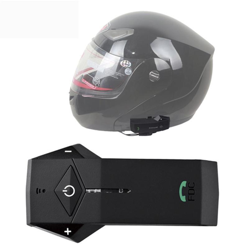Casque de moto étanche Bluetooth interphone casque 1000 M stéréo Duplex intégral FDC 03VB casque de moto casque