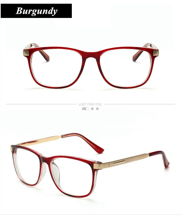 Retro Eyeglasses KOTTDO Square 7