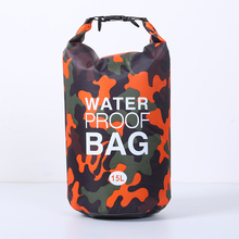 Outdoor Hiking Bag Camping Canoe Waterproof PVC Material Storage Mens Portable Upstream Package