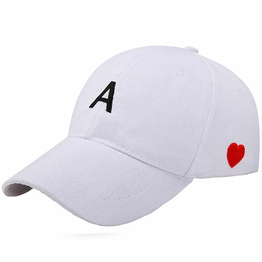 الذكور والإناث الكورية الأبجدية قبعة بيسبول 2019 الرجال والنساء نسخة قابل للتعديل بلون متعددة الوظائف قبعة بيسبول