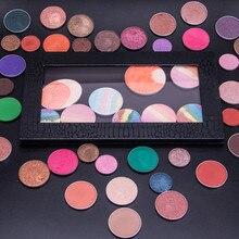 2017 Chic Empty Magnetic Palette Makeup Palette Pad Black Large Pattern DIY Palette New maquiagem pincel