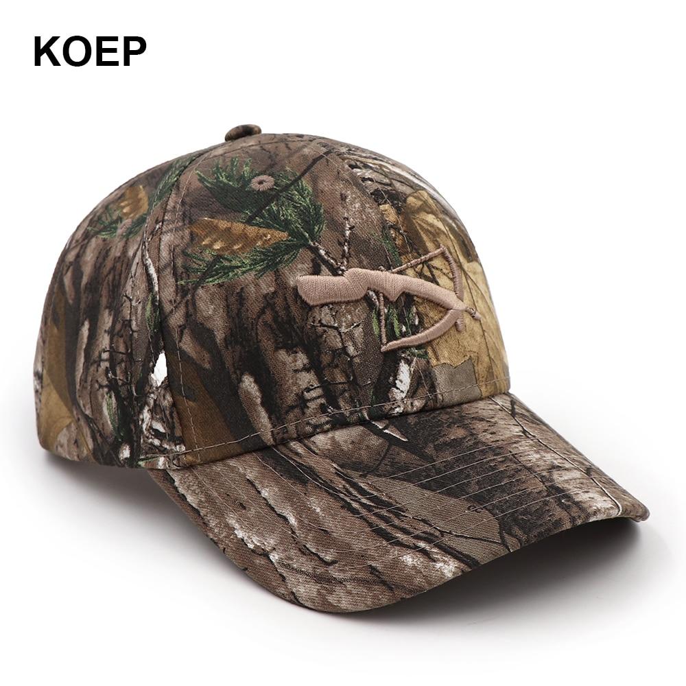 274371ae040 KOEP SicompleX Camo Baseball Cap Fishing Caps Men Outdoor Hunting  Camouflage Jungle Hat Women Hiking Hats