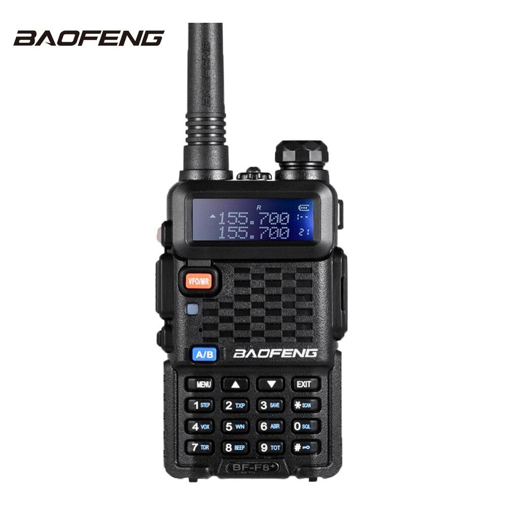 Baofeng F8 + Двухканальные рации 10 км УКВ Двухдиапазонный портативный Радио трансивер Портативный CB Любительское Радио рации два способ Радио