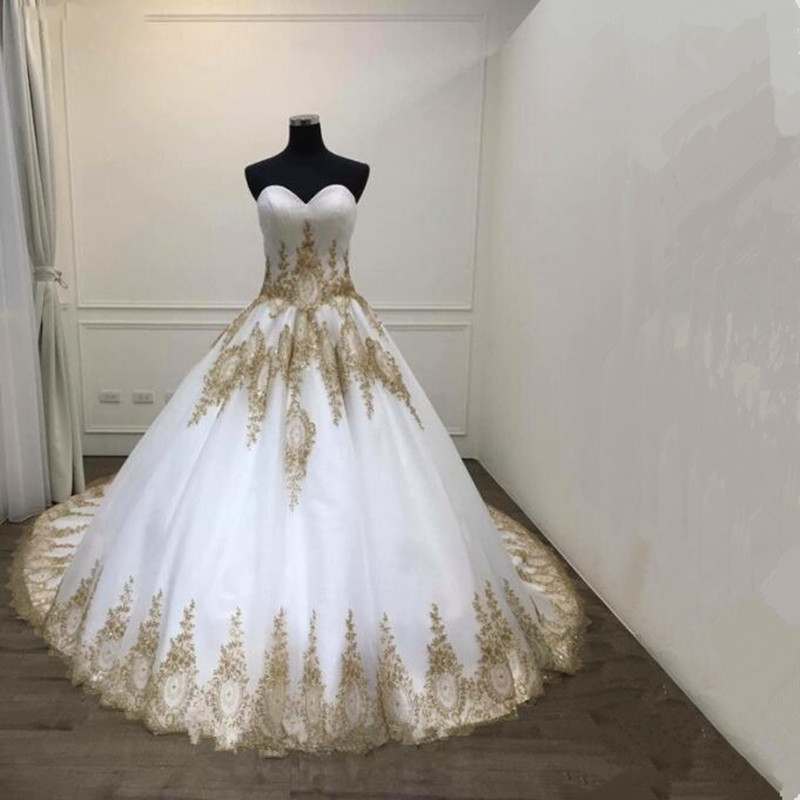 Hot Sale Vintage Ball Gown Wedding Dresses 2018 Real Photo Lace ...