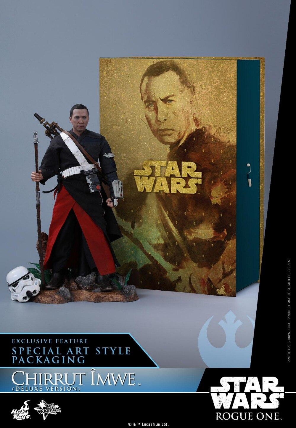 Jouets chauds Rogue One: une histoire de Star Wars 1/6 échelle Chirrut Imwe Donnie Yen ensemble de figurines à collectionner