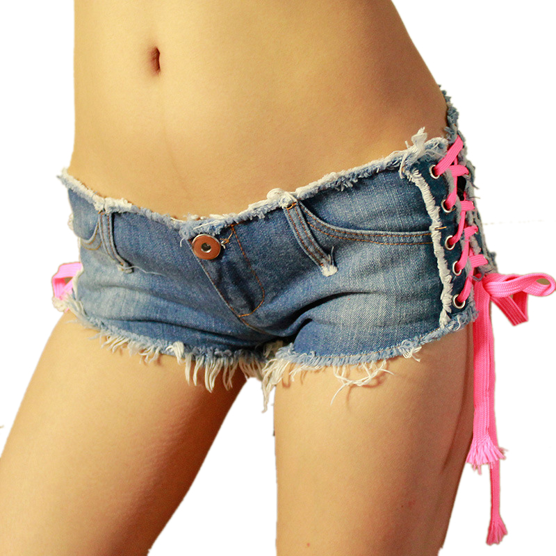 New Sexy Denim Shorts Women Low Waist Short Women Girl Jeans Fashion shorts Hot pants Nightclub bar Women shorts