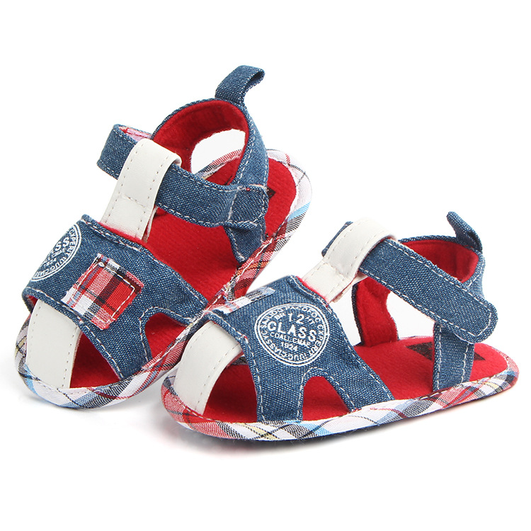 Baby first walker boy Soft Sole Shoes Cute Toddler summer shoes Prewalker
