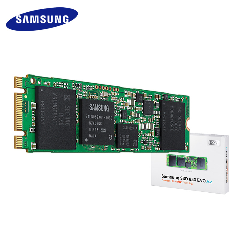 Samsung SSD 850 EVO M.2 SATA III 250GB 500GB 1TB Internal Solid State Drive HD Hard High Speed for Laptop PC Computer