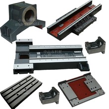 slant cnc lathe machine frame diy customer made oblique bare machine metal lathe