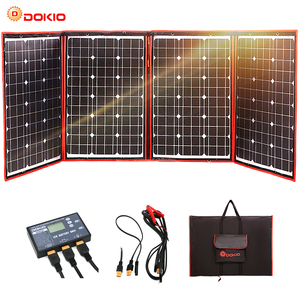Image 1 - 200w 18V Flexible Foldble Solar Panel Form Home Solar Panel Sets outdoor For camping/Boats/RV Solar Cell 12V Charge Solar panel