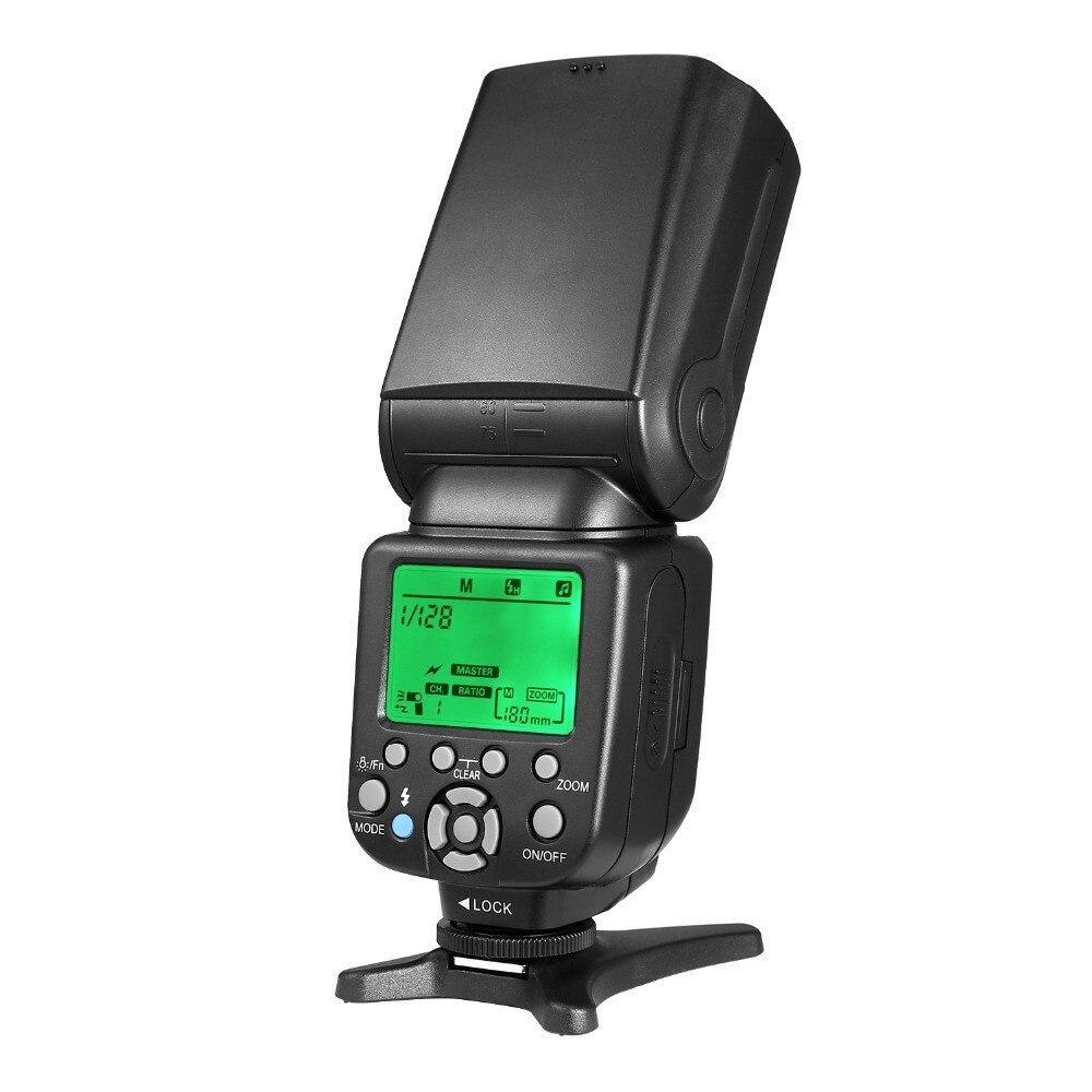 TRIOPO TR-586EX Sans Fil Mode Flash TTL Speedlite Flash Pour Nikon D750 D800 D600 D700 D610 D7100 D7000 Pour Appareil Photo Canon - 2
