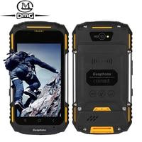 GUOPHONE V88 Waterproof Shockproof mobile phone Android 5.1 MTK6580 Quad Core 1GB RAM 8GB ROM 3G WCDMA GPS 3200mAh Smartphone