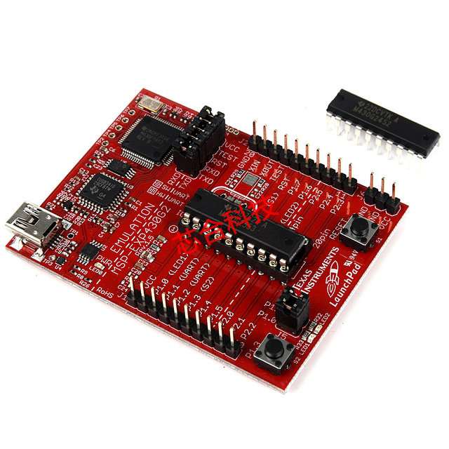 Driver for TI MSP430 LaunchPad
