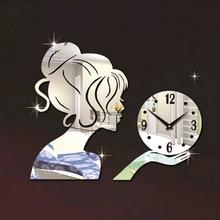 2016 New Wall Clock Clocks Reloj De Pared Horloge Large Decorative Living Room Modern Quartz Watch Diy 3d Stickers Free Shipping