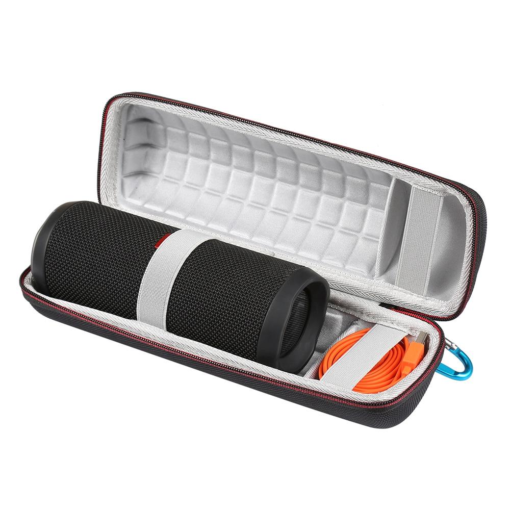 Hrad EVA Luidspreker Case for JBL Flip 4 Draadloze Bluetooth Speakers for JBL Flip4 Soundbox Opslag Draagtas Pouch Wave point-in Speaker Accessories from Consumer Electronics