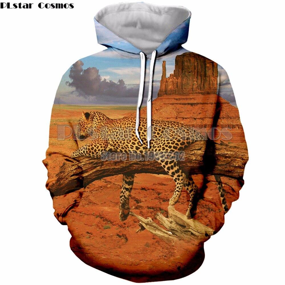 PLstar Cosmos leopard 3D Hoodies Plus Size Printed Sweatshirts Men Women Pullover Hoodies Sweatshirt in Hoodies amp Sweatshirts from Men 39 s Clothing