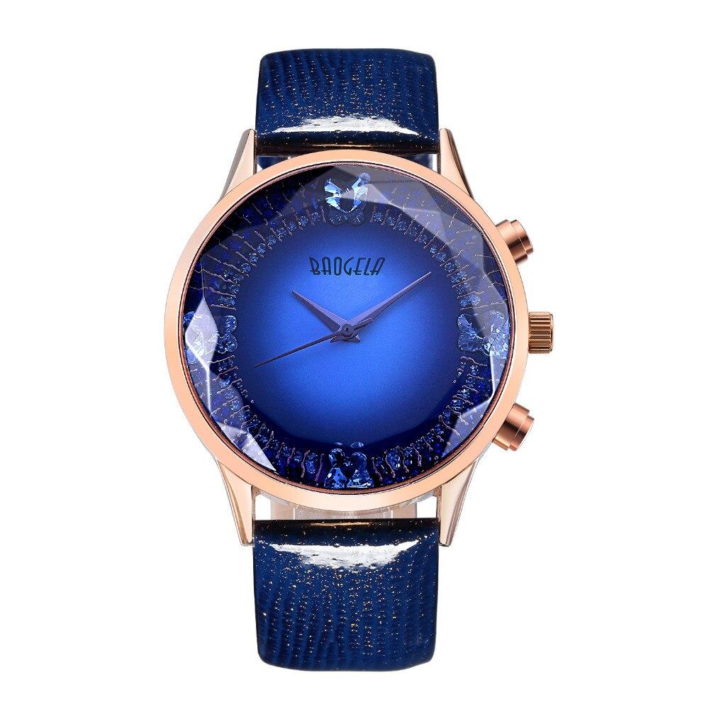 Baogela Women Watches 2017 Fashion Quartz Wrist Watch Leather Strap Wristwatches Relogio Feminino1608