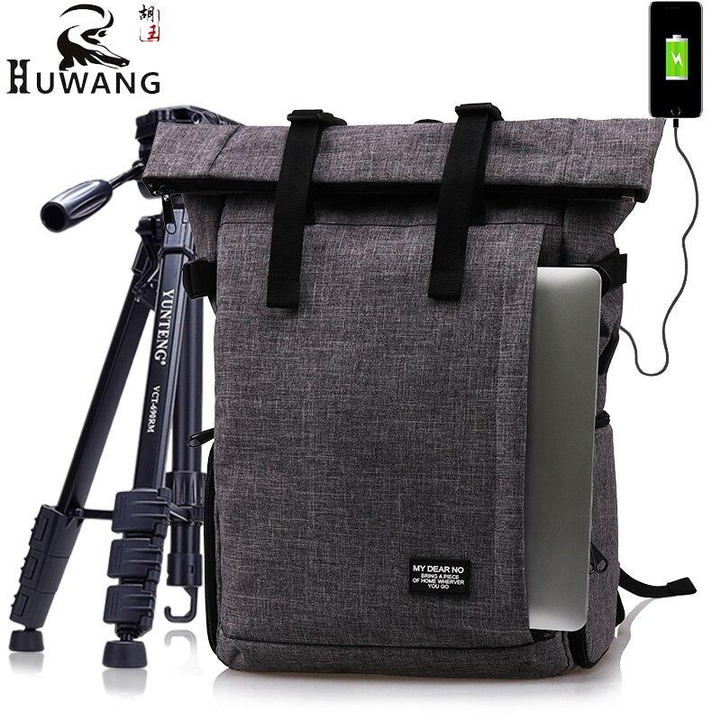 Многофункциональный фотографии Водонепроницаемый цифровых зеркальных фото мягкий рюкзак с дождевик