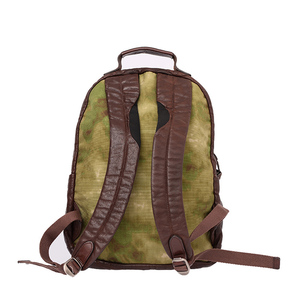 Image 2 - AETOO Cowhide mens doubles shoulder bag retro trendy head layer leather backpack