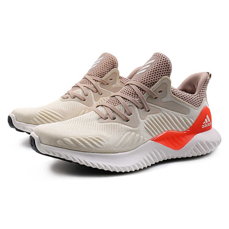 78e61227c8e9e ... Official Adidas Alphabounce Beyond Men s Running Shoes Beige Green  Abrasion Resistant Non-Slip Breathable Support ...