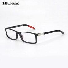 Okulary ramka mężczyźni w stylu Vintage 2019 TAG ezechiasz marka projektant okulary metalowe retro krótkowzroczność komputerowe oprawki do okularów kobiety nerd 0512