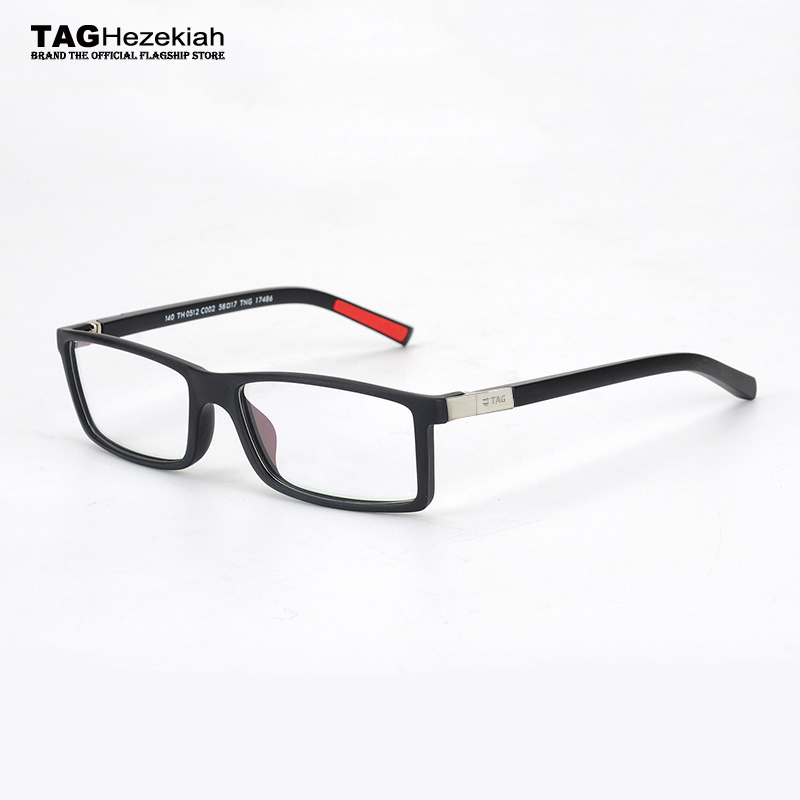 16b4daf640 glasses frame men Vintage 2018 TAG Hezekiah brand Designer goggles metal  retro myopia computer eyeglasses frames