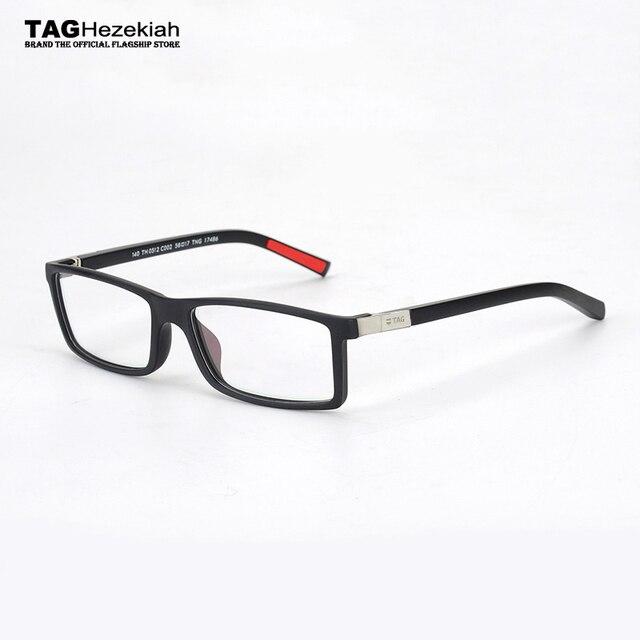 glasses frame men Vintage 2018 TAG Hezekiah brand Designer goggles ...