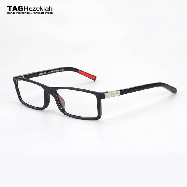 6eca3c8ac5 placeholder glasses frame men Vintage 2018 TAG Hezekiah brand Designer  goggles metal retro myopia computer eyeglasses frames