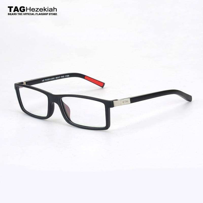Glasses Frame Men Vintage 2019 TAG Hezekiah Brand Designer Goggles Metal Retro Myopia Computer Eyeglasses Frames Women Nerd 0512