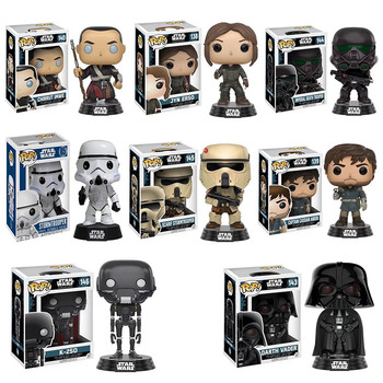 Funko pop Q Edition 10cm star wars tlefront rogue one Action Figure model gift for the children In box