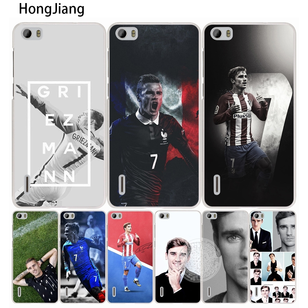 HongJiang Antoine Griezmann Soccer Star <font><b>cell</b></font> <font><b>phone</b></font> Cover Case for <font><b>huawei</b></font> honor 3C 5A 4A 4X 4C 5X 6 7 8 <font><b>Y6</b></font> Y5 2 II Y560