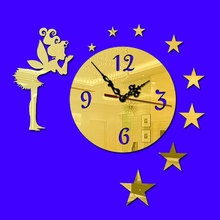 DIY Retro Wall Clock For Children Modern Design Clocks For Home Decor DIY Mirror Clocks Modern Watch Creative Gift Street Clock e m forster the longest journey