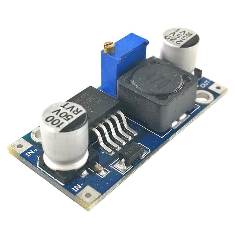 MCIGICM 5 шт. DC-DC понижающий преобразователь модуль LM2596 DC 4,0 ~ 40 до 1,3-37 в Регулируемый регулятор напряжения
