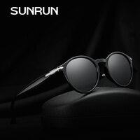 SUNRUN New Fashion High Quality Polarized Women Sunglasses Oval Lens TR90 Frame Sun Glasses Outdoor Driving