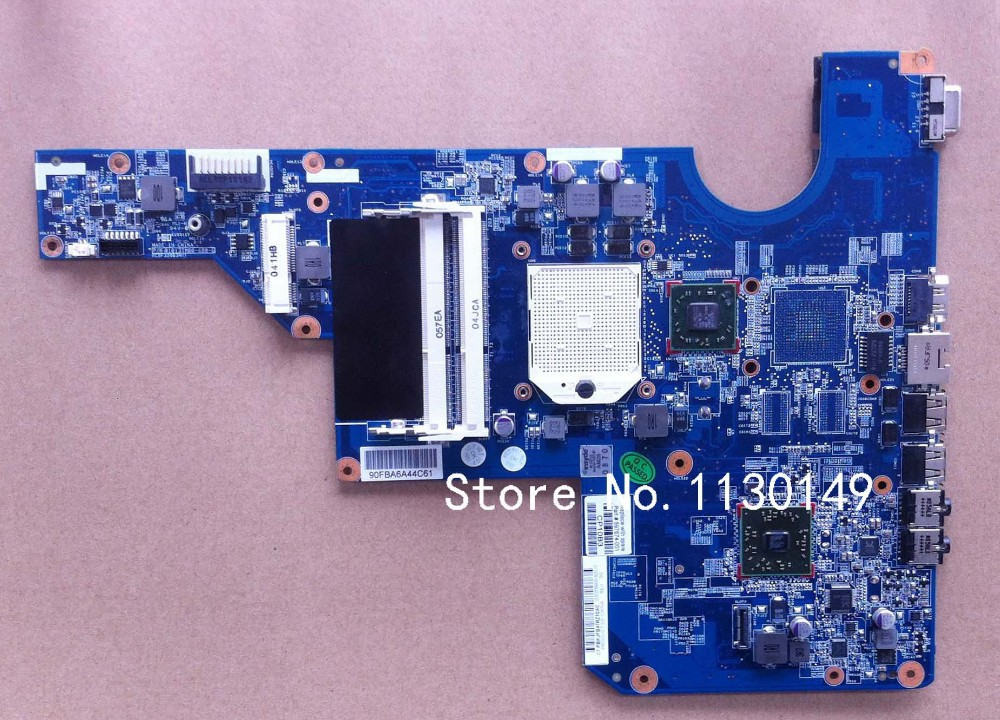 ФОТО 597674-001 Free Shipping for HP CQ62 G62 G72 laptop motherboard DDR3 100% Tested