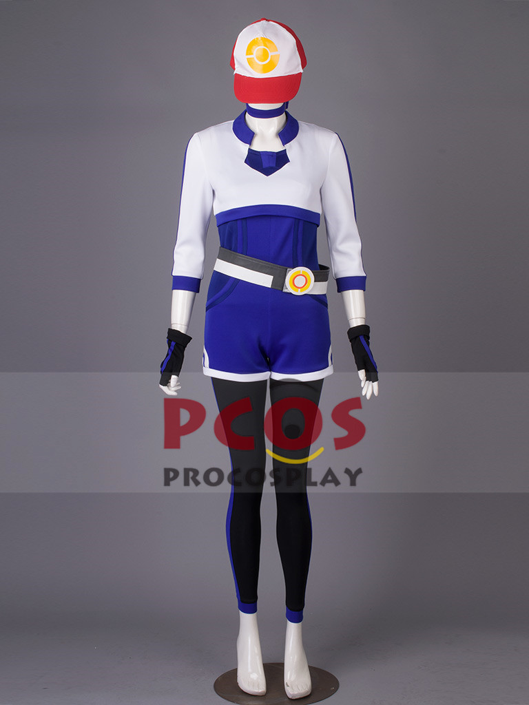 Pokemon Go Female Cosplay Costume & Hat mp003466