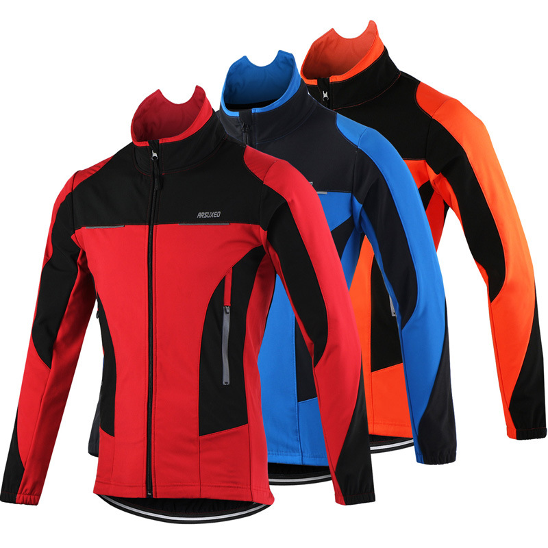2017 Thermal Cycling Jacket Winter Warm Up Bicycle Clothing Windproof Waterproof Sports Coat MTB Bike Jersey 2017 new high grade cycling coat windproof bike bicycle clothing men