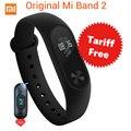 Акция! оригинал Xiaomi Mi Группа 2 Miband Band2 Браслет Браслет с Smart Сердечного ритма Фитнес-Трекер Сенсорная Панель OLED Ремень