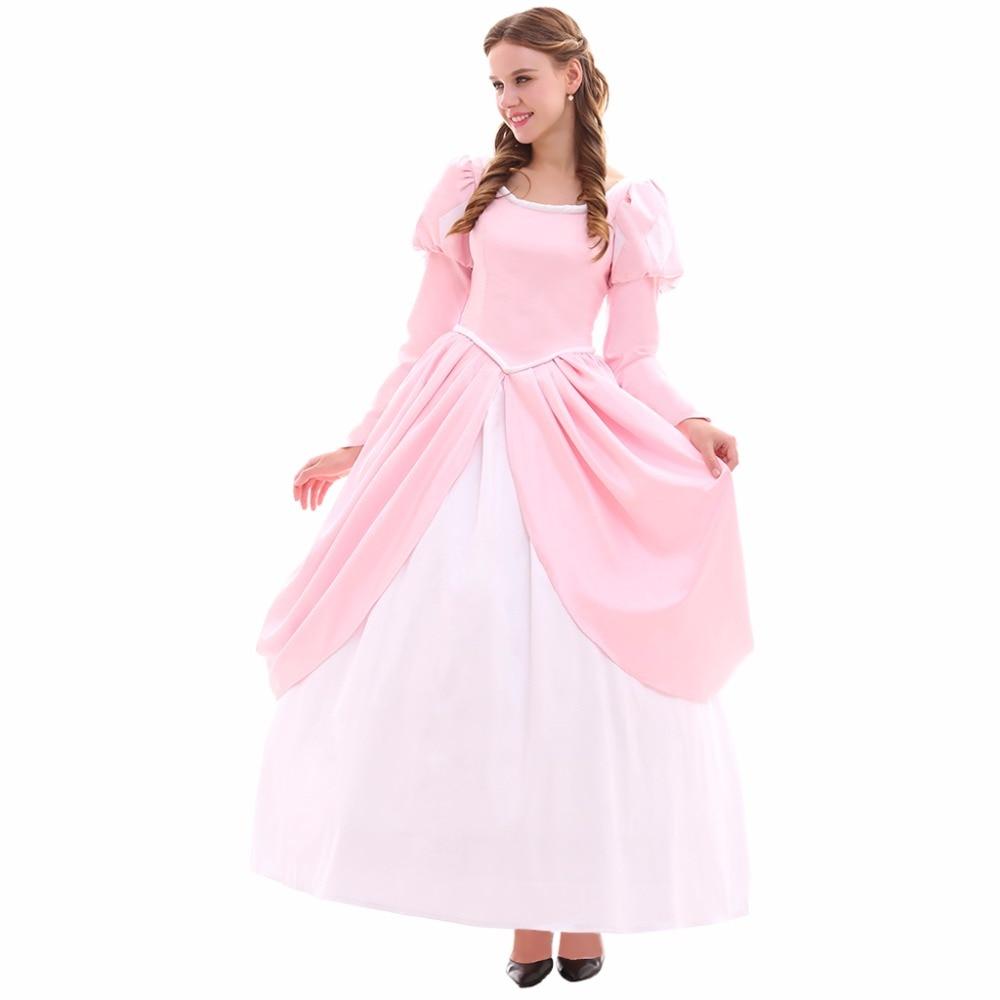 Encantador Ariel Wedding Dress Costume Patrón - Ideas de Vestido ...