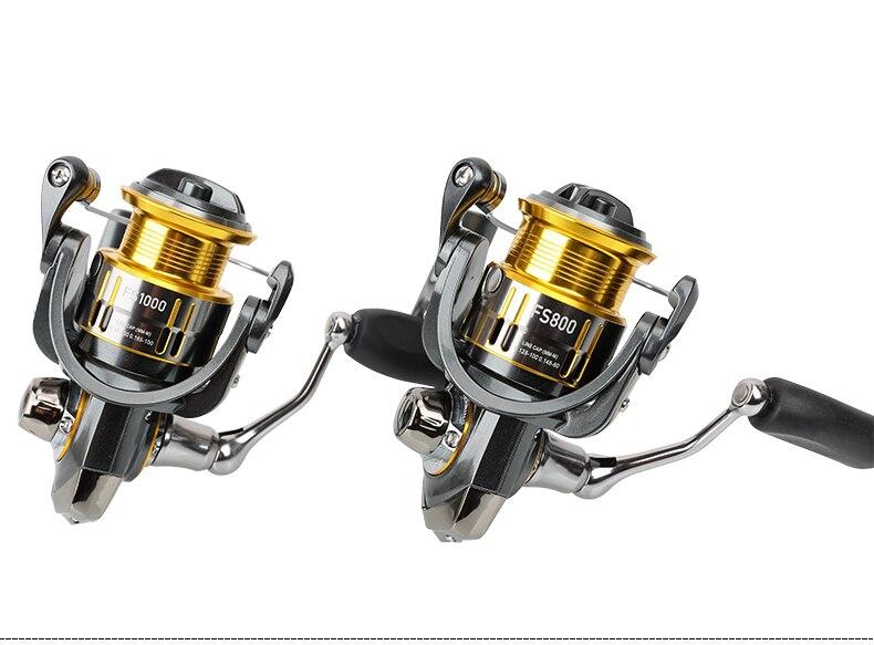 Tsurinoya spinning fishing reel FS800 1000 5 2 1 175 178g free shipping