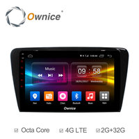 Ownice C500+ Octa Core 10.1 Android 6.0 GPS Car Radio Player 2G+32G For Volkswagen Skoda Octavia 2014 2015 2016 2017 DVD 4G LTE