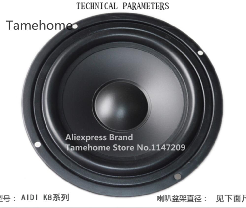 tamehome 1 pcs 8.5 inch car speaker 8 inch woofer home bookshelf