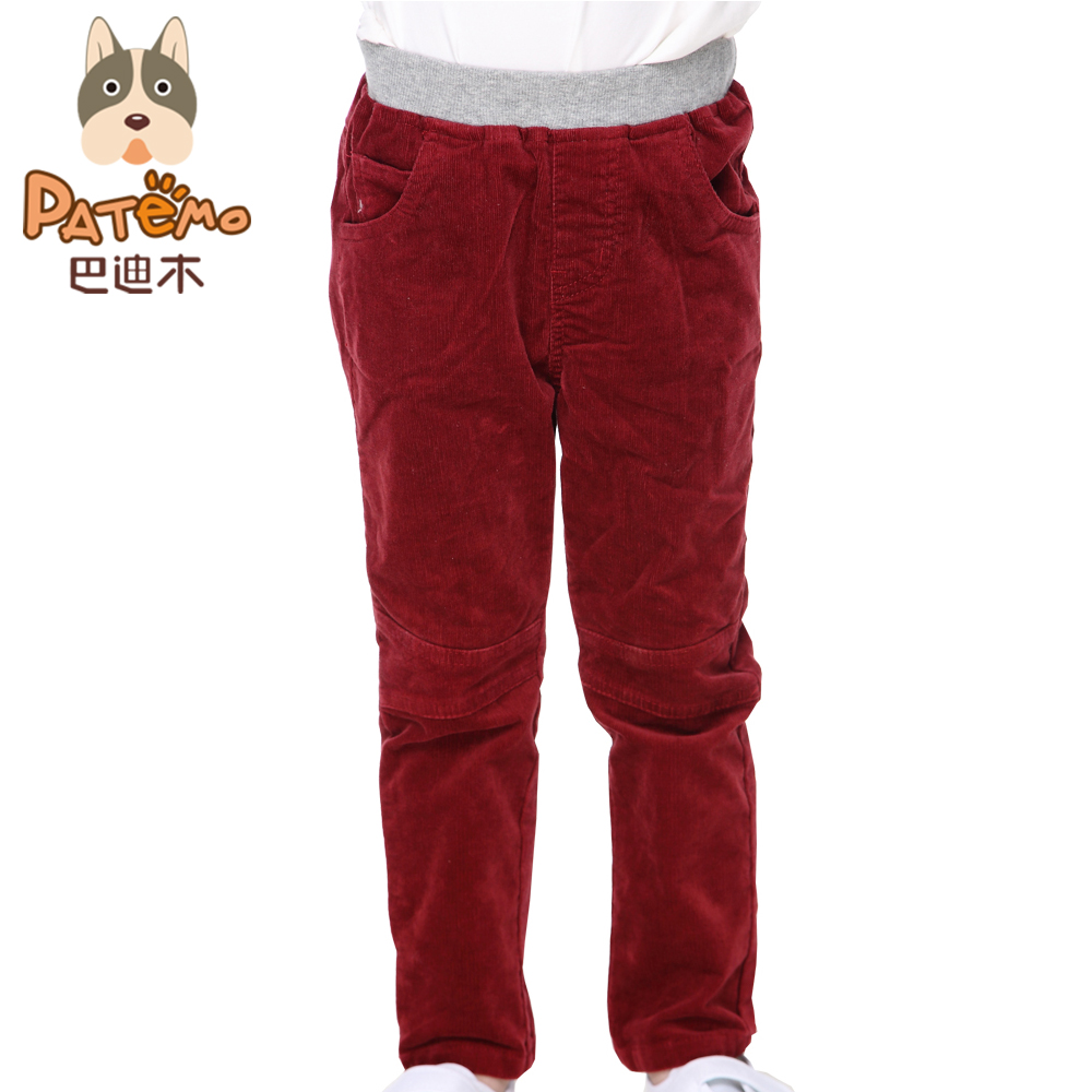 world-wide renown wholesale online clearance US $16.84 |Aliexpress.com : Buy PATEMO Kids Boys Corduroy Pants Full Length  Elastic Waist Pockets Spring Autumn Tatting Trousers Red For 4T~10T ...