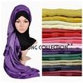 10 pçs/lote mista shimmer lurex glitter shinny pestana sólidos plain viscose hijabs muçulmanos hijab cachecol xale borla lenços foulard