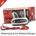 FOXSUR 12 В зарядное устройство для мотоциклов и автомобилей, 12 В свинцово-Кислотное зарядное устройство для SLA, AGM, GEL, VRLA, Mariner-50 смарт-зарядное ус...