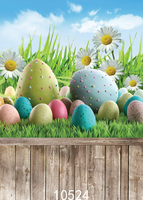 6 5 X 5ft Easter Eggs Wooden Floor Photography Backdrop Customized Photo Background Studio Prop Photography