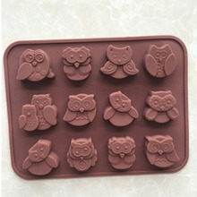 Lollipop Molds Forms Cake-Stand Chocolate-Cake-Mold Jelly Fondant Candy Silicone Stencil